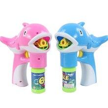 Дельфин Пузырь Чайник СВЕТОДИОДНЫЕ Лампы Музыка Light Box Подарки На День Рождения Игрушки для Детей Kids