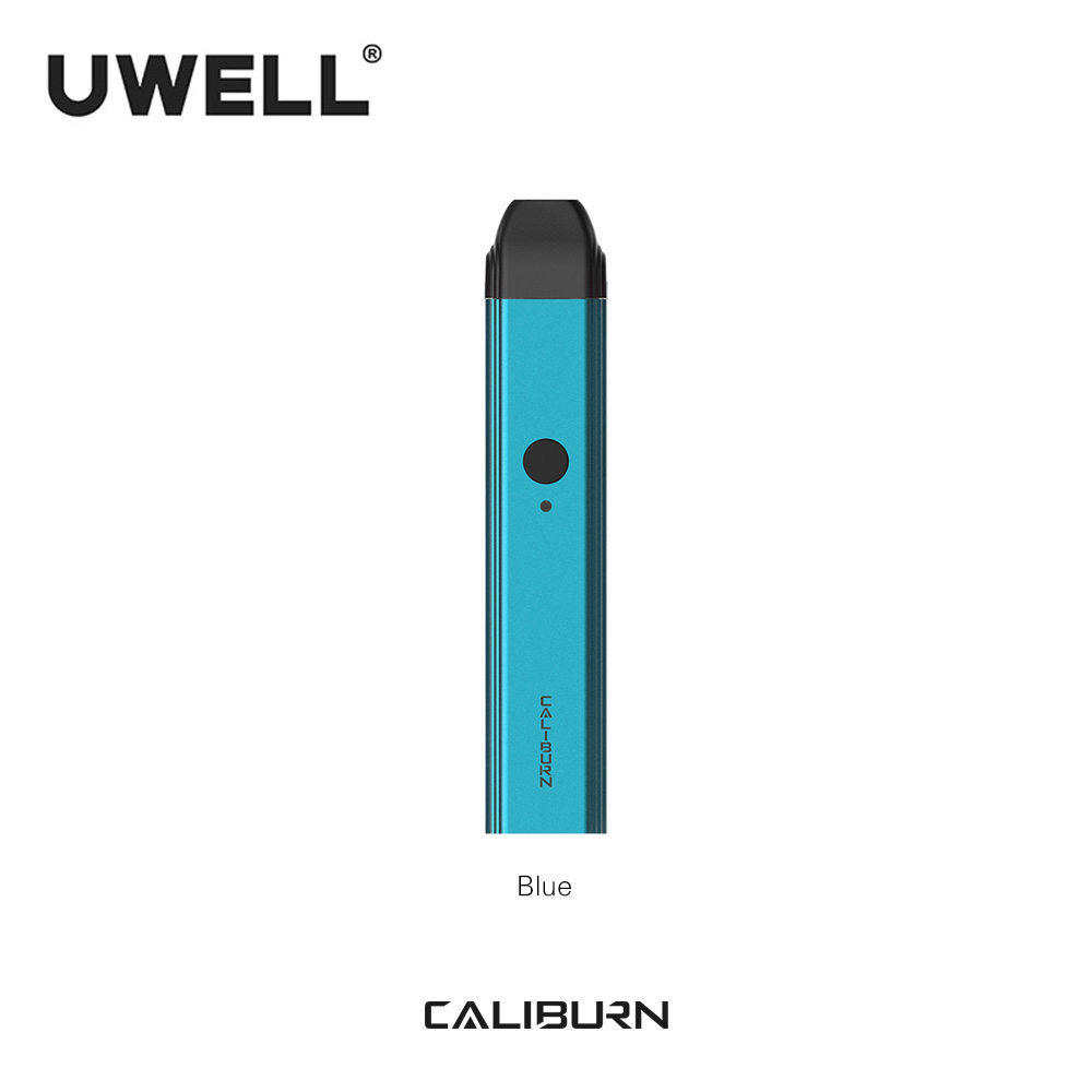 In Stock!!! UWELL 2019 New Arrival Caliburn Portable System Kit 2ml Pod Cartridge 11W 520mAh  Electronic Cigarette Kit  Vape Pod