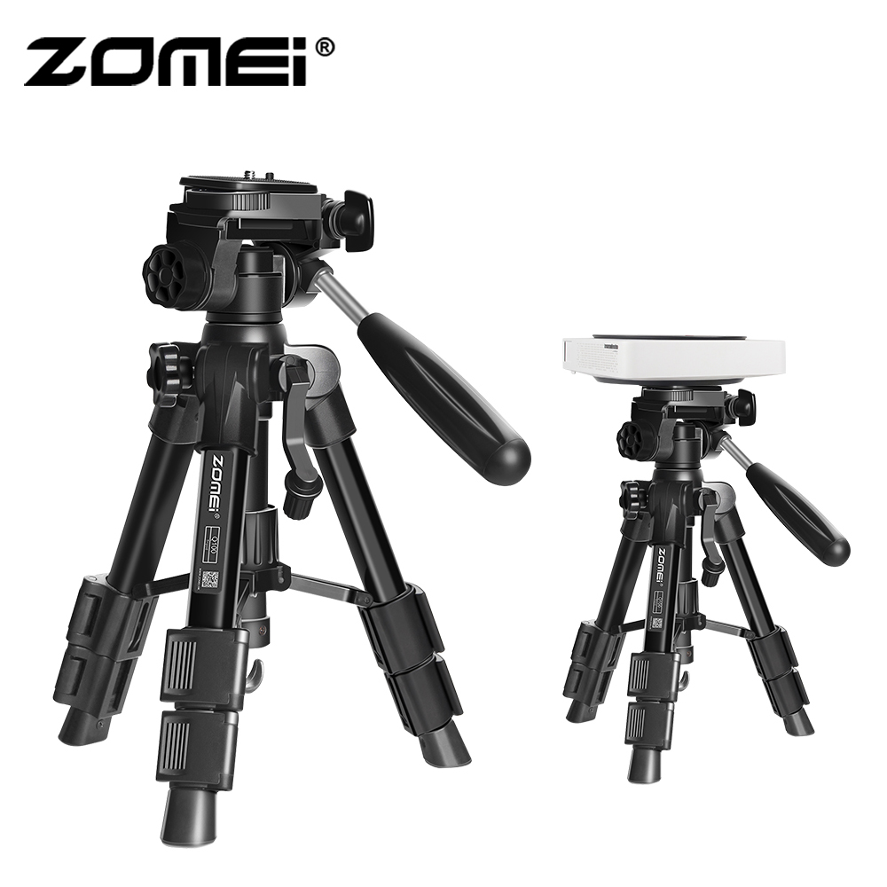 ZoMei Original LCD Projector Bracket Professional Adjustable Aluminum Alloy Tripod Projection Accessories For AUN C80 X2 D5s