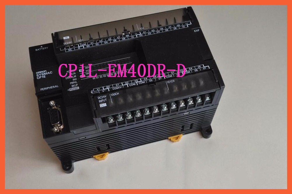 CP1L-EM40DR-D PLC CPU DC input 24 point relay output 16 point Programmable controller programmable logic controller module cp1l m30dt d plc cpu dc input 18 point transistor output 12 point