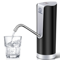Electric Water Bottle Pump Automatic Purified Water Faucet Suction Unit Water Dispenser With Rechargeable Battery Kitchen