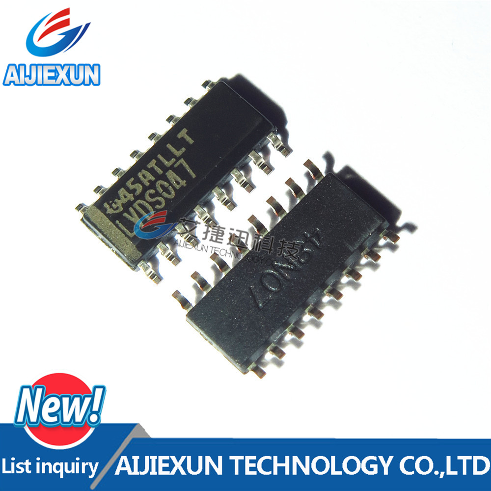 5PCS SN65LVDS047DR LVDS047 SOP16 LVDS Driver 0.45V 16-Pin SOIC T/R in stock 100% New and original