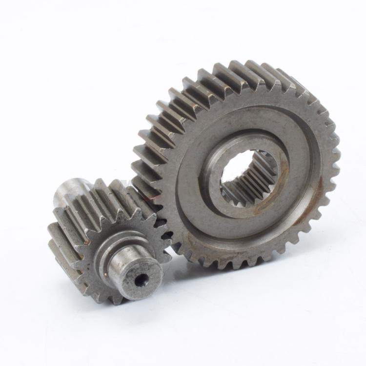 Free shipping 36T-17T Performance Final Drive Gear for GY6 125 150cc 152QMI 157QMJ Chinese Scooters Engine Spare parts