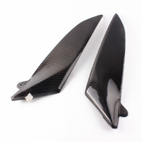 Motorcycle Carbon Fiber Tank Side Cover Panel Fairing For Yamaha YZF R1 2004 2005 2006