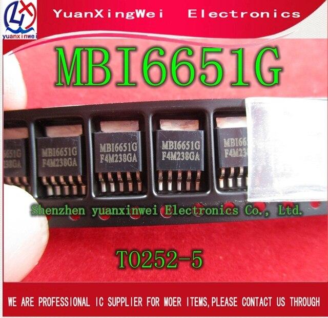 MBI6651G TO 252 MBI6651 spot New 10PCS package Quality Assurance