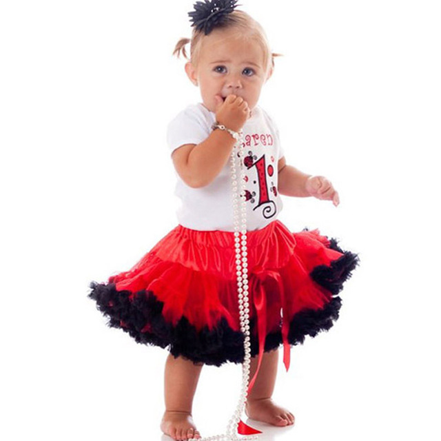 2017 foreign trade children's clothing Spring clothes girls gauze skirt Fluffy Chiffon Pettiskirts for girls red 0-16 years