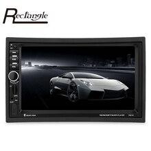 7021G 7 inch 2 Din Car MP5 Player GPS Navigation Bluetooth Car Radio Auto Multimedia Player with Remote Control FM Audio