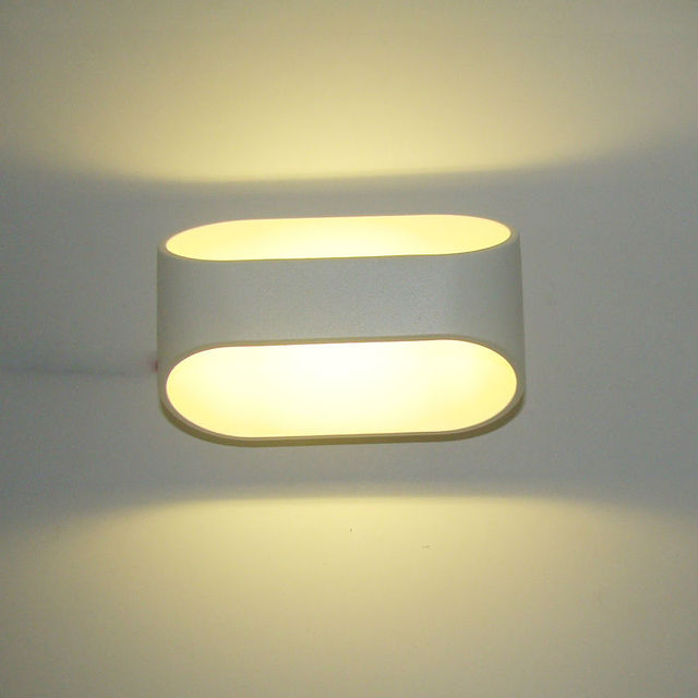 Modern LED wall lamp 5W home decoration wall light for living room ...