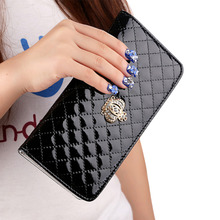 MCvilla Women Handbag Fashion Leather Purse Long Wallets Women Zipper Quilted Clutch Bags Coin Purse Holders Wallets portfolio
