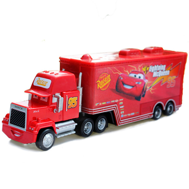 disney pixar cars toys lightning mcqueen mack truck. Black Bedroom Furniture Sets. Home Design Ideas