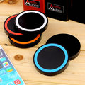 Alta calidad 5 colores universal qi wireless pad de carga del cargador de energía para el teléfono móvil para el iphone 6 alta calidad