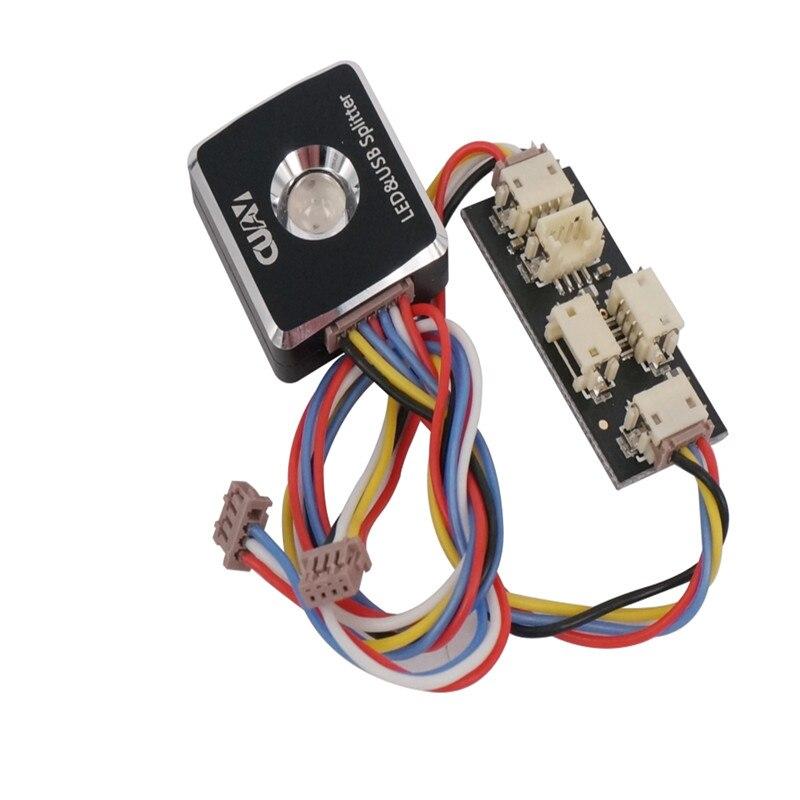 CUAV LIVRAISON GRATUITE chaude 12C carte d'extension et LED lampe module accessoires pour FPV UAV contrôleur de vol