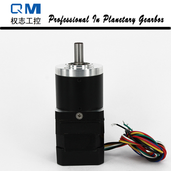 Gear brushless dc motor nema 17 30W 24V bldc motor with planetary reduction gearbox ratio 15:1