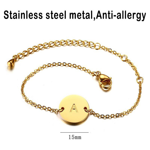 Chain Link Adjustable Length Female ID Jewelry