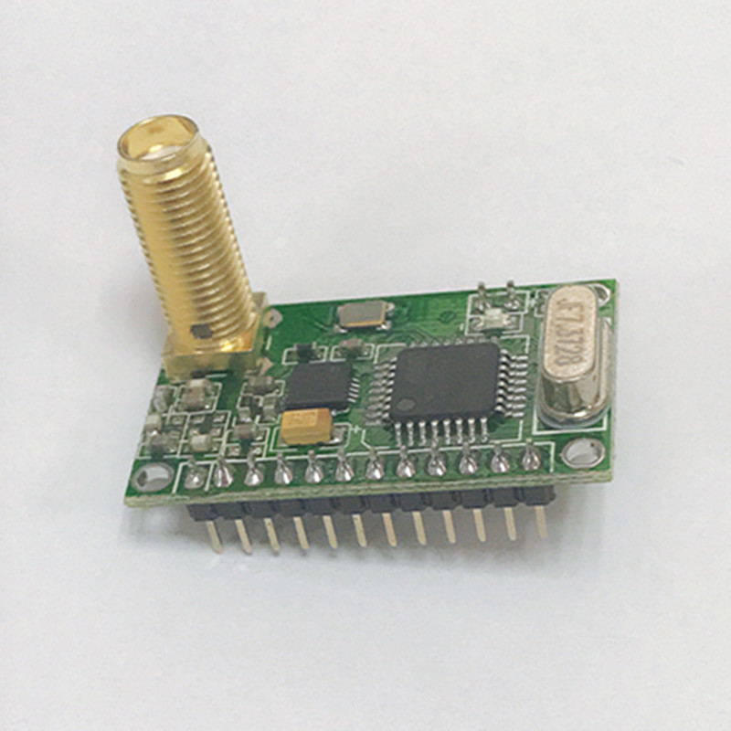 Fixed Wireless Terminals Rs232/rs485/ttl 38400 High Speed Rf Module Cc1101 433 Transceiver 868mhz Module For Pos And Dish-order Wireless System Attractive Fashion
