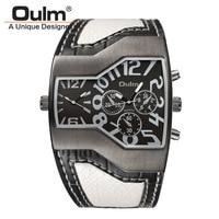 Mens Watches Oulm Hot Sale Brand Clock Relojes Lujo Marcas Men Montres De Marque De Luxe