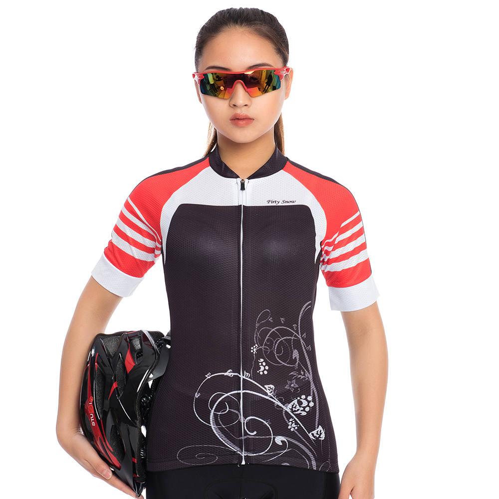 2018 Firty sonw MTB Bike Jersey Shorts Sets Ropa Ciclismo Jersey Women Cycling Clothing Bicycle Girl Top Padded Female Bottom