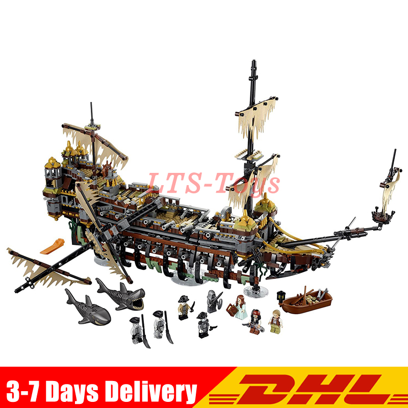 2018 Compatible LegoINGlys 71042 Pirate of The CaribbeanThe Slient Mary Set Children Building Blocks Bricks Toy Model Gift