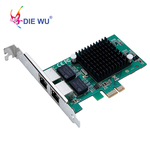 Image 3 - Intel82575 כפולה יציאת RJ45 נמל NIC 10/100/1000 Gigabit PCI Express pcie x1 רשת שרת מתאם כרטיסי TXA020