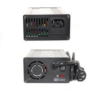 Image 5 - 42 فولت 2.5A شاحن بطارية ليثيوم أيون الألومنيوم الحال بالنسبة 10S 36 فولت يبو/LiMn2O4/LiCoO2 بطارية الشواحن الذكية لصناعة السيارات في إيقاف الأدوات الذكية