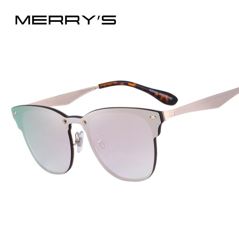 MERRY'S CONCEPTION Hommes/Femmes Classique Rétro Rivet lunettes de Soleil 100% UV Protection S'8208
