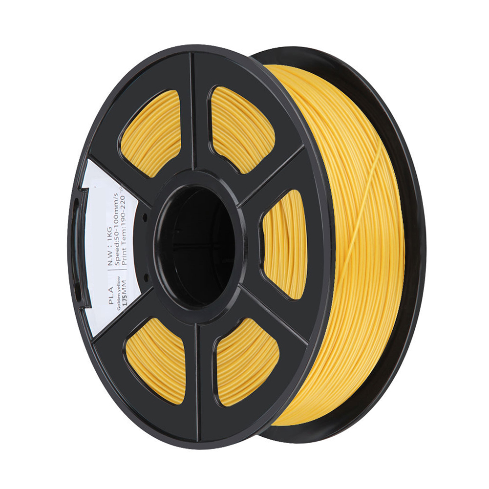 BLEL Hot PLA 1KG 1.75mm Repraper 3D Printer Filament Bundle for Reprap Mendel GOLD COLOR 3d printer filament 1kg 2 2lb 3mm pla plastic for mendel white