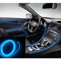 Luzes Atmosfera Interior do carro Styling Para Audi A3 A4 B5 B6 B7 B8 A6 C5 C6 Q5 Q7 TT A1 A5 S3 S4 S5 S6 S8 acessórios