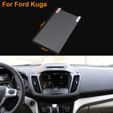 Car Styling 8 Inch GPS Navigation Screen Steel Protective Film For Ford Kuga Control of LCD Screen Car Sticker
