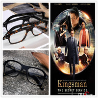 Movie Kingsman The Golden Circle Secret Service Cosplay Eyewear Glasses Eyeglasses Sunglasses