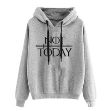not today sweatshirt womens hoodies pullover harajuku korean pink streetwear clothes gothic hoodie casual festival clothing