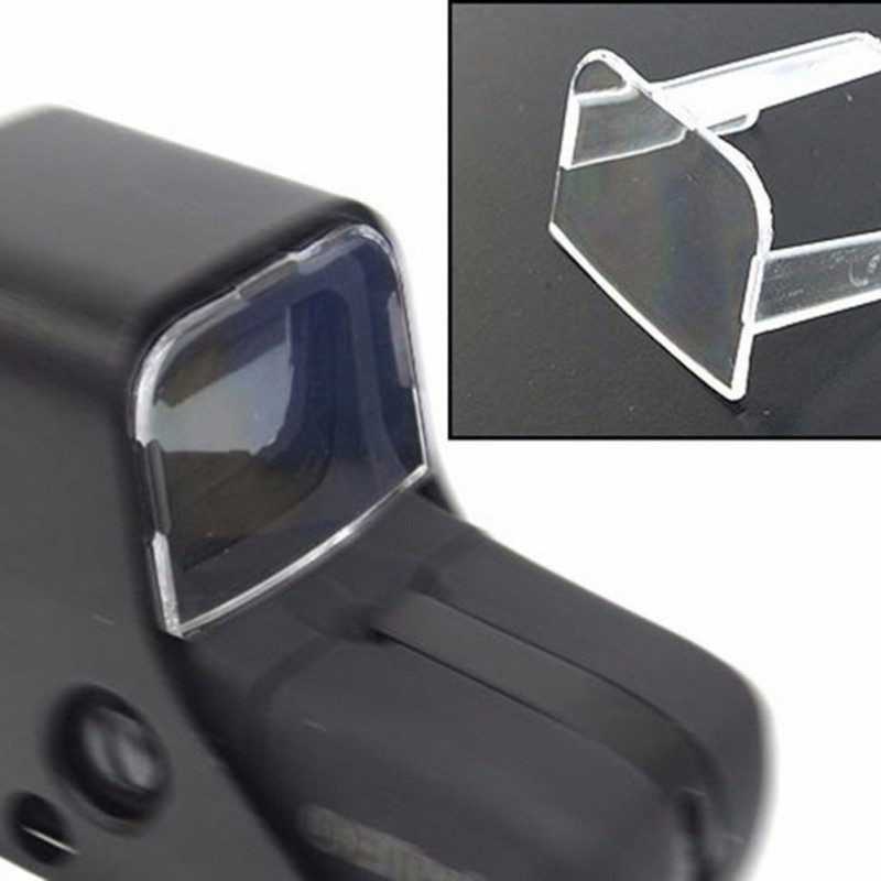 Tactical Hunting Airsoft Scope Red Green Dot Sight Lens Protective Holosight Cover For 551 / 552 / 553 / 557 Type New