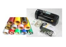 13 Cutting Plotter 20 x10ft PU Heat Transfer Vinyl T shirt Printing Heat Press