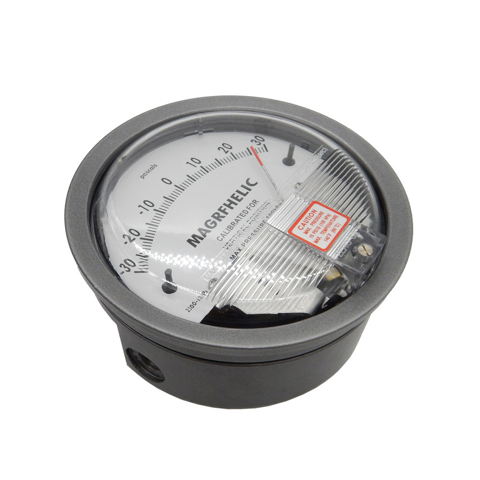 +/-30pa Digital Analog differential pressure table pressure difference meter negative pressure meter professional digital analog differential pressure gauge 1000pa negative pressure meter manometer gas industry