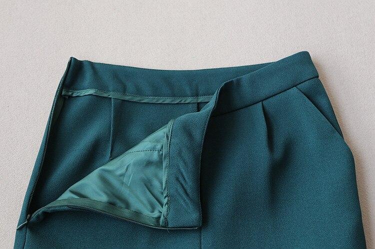 De Dame Pantalon Sans Accessoire Costume D'affaire Ensemble Eté Usure Manches Style Crantée Bureau Femmes Printemps Classique Capri 1 Gilet Récolte 0BURx