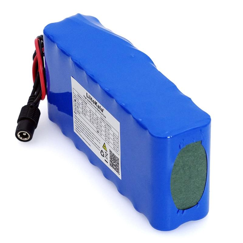 LiitoKala 14.8 V 10Ah 18650 li-iom batterie pack nuit pêche lampe chauffage mineur lampe amplificateur batterie avec BMS + 16.8 V chargeur - 4