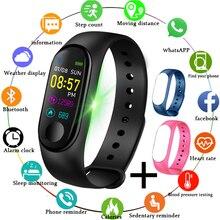 LIGE 2019 New smart sports wristband Heart Rate Blood Pressure Monitor Smart Watch Men Fitness Tracker Pedometer bracelet