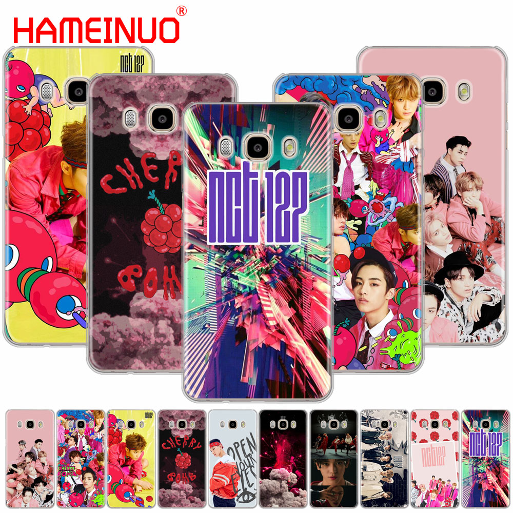 HAMEINUO NCT 127 Kpop Boys cover phone case for Samsung Galaxy J1 J2 J3 J5 J7 MINI ACE 2016 2015 prime