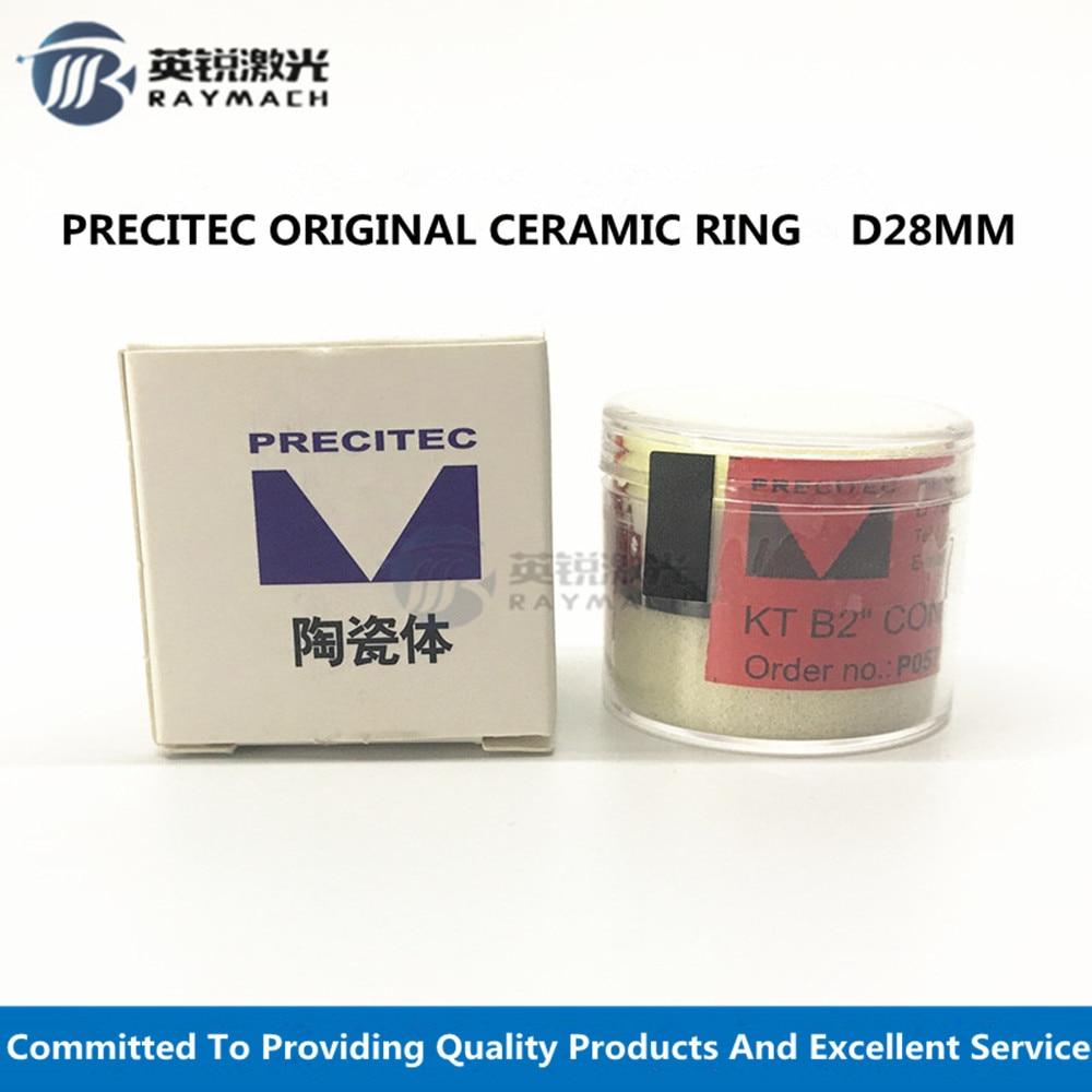 Laser Ceramic Laser Nozzle Holder Dia. 28mm For WSX Laser Parts PRECITEC Fiber Laser Head Ceramic Ring Original