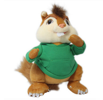 product Alvin And The Chipmunks Figures Plush Model Kids Toys Doll Cartoon Pets Chipmunks Theodore