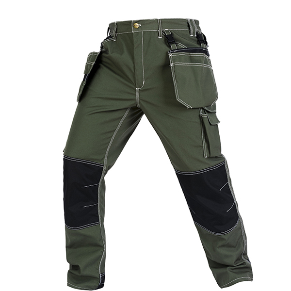 Bauskydd High Quality Men's Wear-resistance Multi-pockets Work Trousers Cargo Work Pant Workwear Construction Mechanic