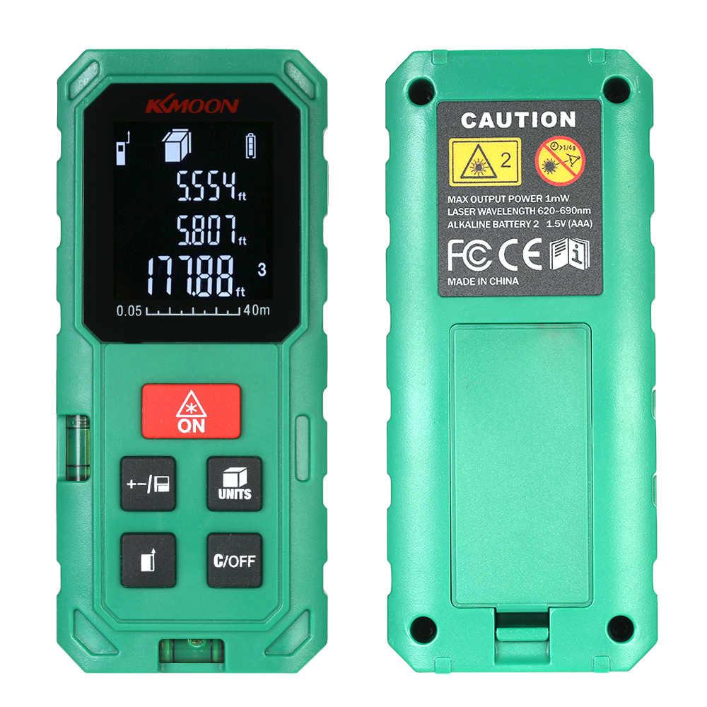 KKMOON Laser rangefinder dải finder 40/60/80/100 m laser cách meter Biện Pháp Cai Trị Roulette tren băng roulet cụ kiểm tra