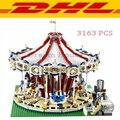 2017 New LEPIN 15013 3263Pcs City Creator Expert Grand Carousel Model Building Kits Blocks Bricks Toys For Children Gift 10196