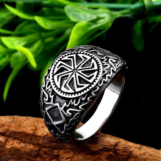 bague viking signes celtiques
