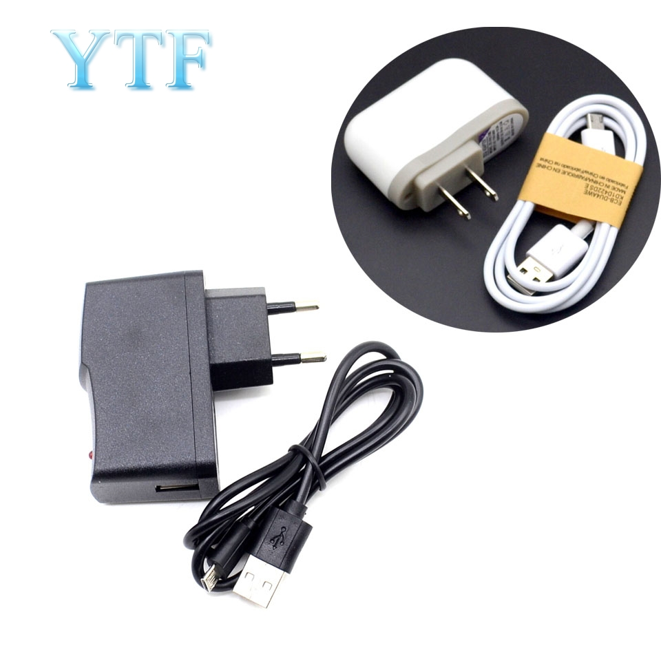 10pcs 5V 2A And 5V 2.5A Micro USB Charger Adapter Cable Power Supply For Raspberry Pi 2 3 B+ B Newest  EU US