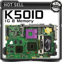 K50ID 1GB 8 Memory For Asus K50I K50IE X5DI K50ID Board Laptop Motherboard Mainboard For 60
