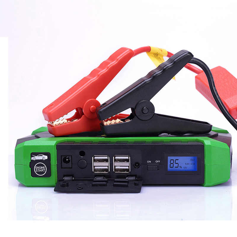 HAMBAR Car Jump Starter 68000mWh Starting Up Petrol 6.0L Diesel 3.0L Car Battery Booster 800A Power Bank starting device for car
