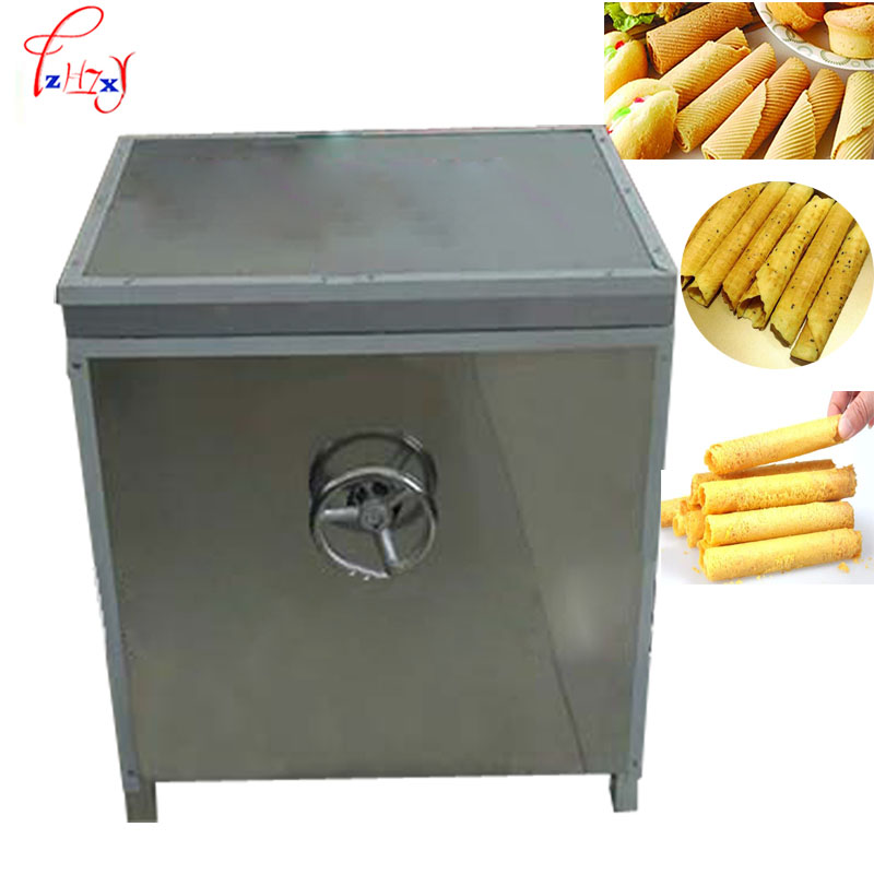 Commercial egg rolls machine egg waffle maker gas type Crispy Fried egg roll maker 1pc directly factory price commercial electric double head egg waffle maker for round waffle and rectangle waffle