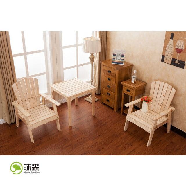 Mu ] Sen Hotel Ikea muebles de madera de exportación silla de mesa ...