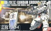 Bandai HGUC 79 RX-79 [ G ] Gundam tipo de terreno modelo em escala
