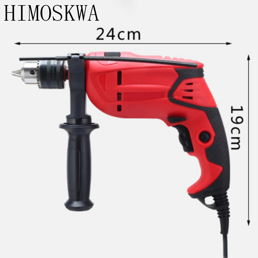 710W High qulity hand drill Household Electric impact drill Electric drill Screw driver bits power tools Fre Shipping 20pcs double drill driver screwdriver drill bit screw driver bits for electric dill high speed steel power tools accessory